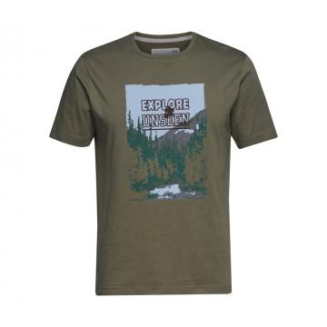 Tričko EXPLORE zelené S