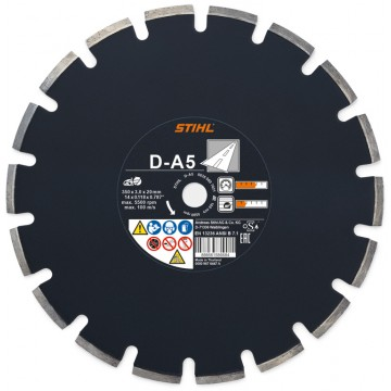 Diamantový rozbrusovací kotúč - Asfalt (A) D-A5 300 mm