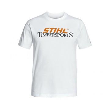 Biele tričko STIHL TimberSports S