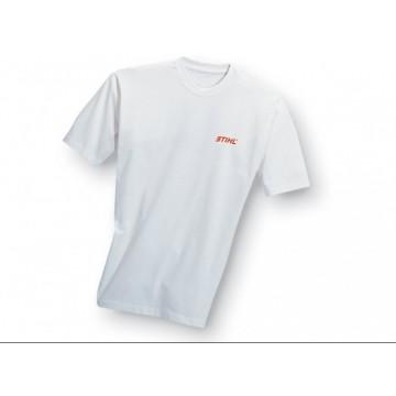 Tričko biele s logom STIHL, 190gr S